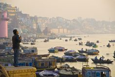 Morning at Varanasi  by hock how & siew peng