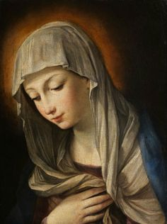 Attributed to Guido Reni - Madonna Addolorata