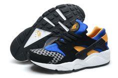 cb338fc5e8e7f Buy Men NK Air Huarache Punch Premium Triple Shoes Black Blue Online from  Reliable Men NK Air Huarache Punch Premium Triple Shoes Black Blue Online  ...