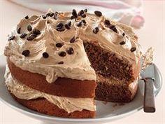 Lewer 1 dubbellaag-koek Bereiding: minute Gaarmaaktyd: minute KOEK 180 g margarien Coffee Dessert, Coffee Cake, Dessert Table, Kos, Ma Baker, Big Cakes, Pudding Cake, Desert Recipes, Sweet Bread