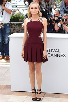 Style Spotlight: Diane Kruger - Fashion - FashionEtc.com - she rocks it everytime!