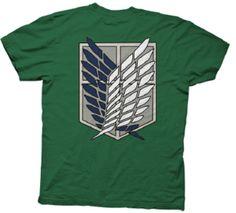 $19.99 http://www.crunchyroll.com/store/deals/1244/attack-on-titan-shirt-survey-corps-pre-order?src=email_20131029_promo1244