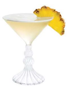 Pineapple & St. Germain Cosmopolitan. Made it this weekend - delicious and refreshing summer cocktail :)