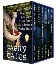 http://bookbarbarian.com/faery-tales-by-anthea-sharp/ - *Save over 85% off individual list price!* Six tales of adventure, love, and treacherous fey magic from six award-winning, bestselling authors. Enter these fantastical realms where dark powers lurk and the ordinay world can be transformed in a heartbeat to a place of wonder--and danger. From the hidden fae folk dwelling among mortals to the challenges of babysitting a malicious fairy, these tales will cast their encha