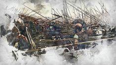 Military Art, Military History, Ancient Armor, Old Norse, Roman History, Historical Art, Ancient Greece, Ancient History, Fantasy Art
