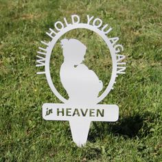 Mother with Infant Memorial Garden Stake by NewCastleSign on Etsy, $34.00