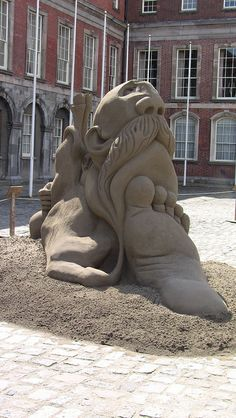 Sand Castles At Dublin Castle | Flickr - Photo Sharing!