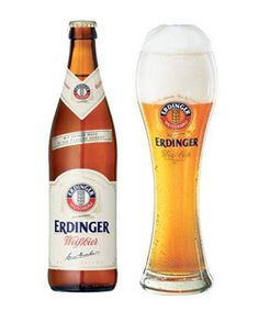 Erdinger. Germany. German beer.