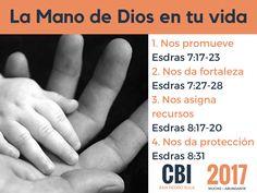 La Mano de Dios en tu vida, te promueve, te da fortaleza, te asigna recursos y te dá protección  CBI SPS