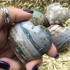 Ocean Jasper Hearts for happiness in love and life
