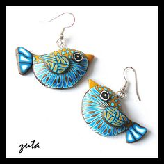 Earrings by Verundela, via Flickr - http://www.flickr.com/photos/45852763@N06/5588398047/