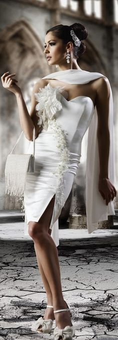 Rich Girl- Glamorous and Chic Evening Couture