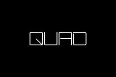 Quad Cinema by Pentagram, United States. #branding #logo