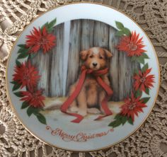 Artaffects CHRISTMAS PUPPY by Donna by ChrysanthemumCottage, $10.00