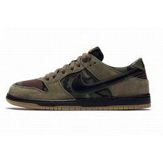 new product e4295 cbefb Nike Dunk SB Vert Noir Fiable  PasCherNikeDunkSB
