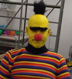 bert costume might have nightmares about this one