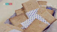 Molto Bene - La ricetta dei crackers al miele del 2 marzo 2015