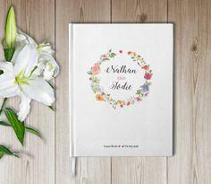 Libro ospiti matrimonio  Libro ospiti Personalizzato  di luzdesign