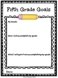 BACK TO SCHOOL ACTIVITIES - FIFTH GRADE FUN - Great Activities For The First Day Of School. #tpt #education #literacy