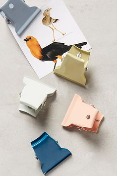 Powder-Coated Desk Clip - anthropologie.com