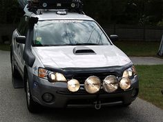 Subaru Outback ready for the outback