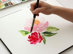 watercolor basics: blending - The Alison Show