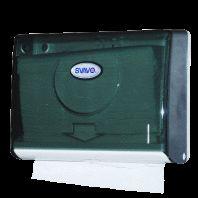 Hộp đựng giấy lau tay treo tường V620B chất liệu nhựa trong dùng cho nhà vệ sinh phòng tắm khách sạn hay nhà hàng, sân bay, công cộng