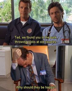 Lord, how I miss this show.  Ted was always my favorite.