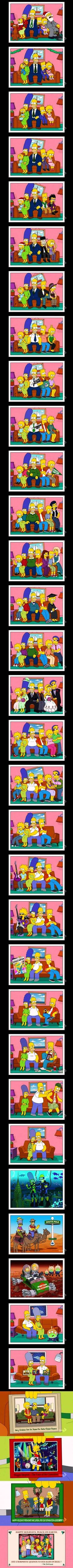The Simpsons Timeline