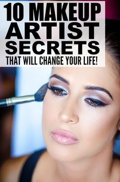From foundation application, to how to hide acne scars, to how to make your nose look smaller, to how to cover dark circles, this collection of 10 makeup tutorials will teach you the most amazing secrets of makeup artists everywhere! - Nails Art, Hair Styles, Weight Loss and More!: www.crazymakeupideas.com