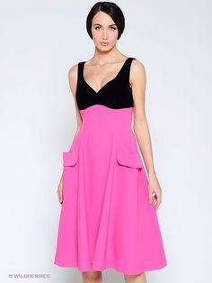 Платье Isabel Garcia Цвет: фуксия Состав: полиэстер 100%