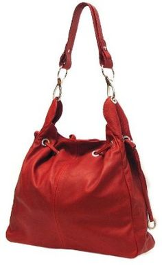 Floto Luggage Buccina Handbag Toscana Red Medium *** Be sure to check out this awesome product. Tote Purse, Tote Handbags, Purses And Handbags, Buy Handbags Online, Handbag Stores, Types Of Bag, Small Bags, Luxury Handbags, Italian Leather