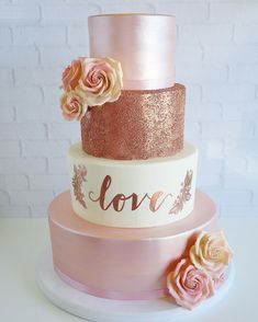 Wedding Cakes – kindly study this eye pleasing recommendations, pin number 2741413405 here. Wedding Cake Roses, Beautiful Wedding Cakes, Beautiful Cakes, Dream Wedding, Our Wedding, Wedding Events, Weddings, Quinceanera Cakes, Quinceanera Decorations