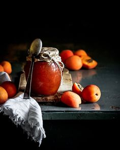 Fruit Photography, Vintage Cooking, Stone Fruit, 200 Calories, Orange, Homemade, Preserves, Jars, Lunch