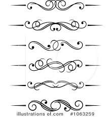 Clipart of Swirl elements - Search Clip Art, Illustration Murals, Drawings and Vector EPS Graphics Images - Art Nouveau, Paper Quilling Patterns, Clip Art, Scroll Pattern, Monogram Design, Scroll Design, Swirls, Free Design, Swirl Design