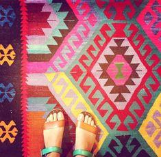 Furbish Studio, Raleigh NC kilim rug