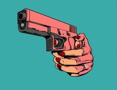 gun pop art - Google Search
