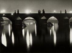 Charles Bridge, Prague, 1964 by Zdenek Voženílek