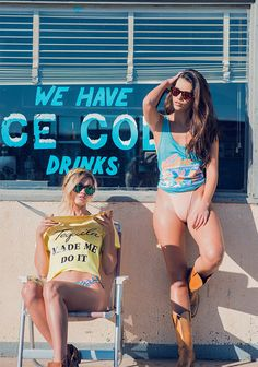 Pastel tanks, cute graphic tees, and soft knitwear, WILDFOX drops their hot-weather essentials. Full lookbook and shop the story.