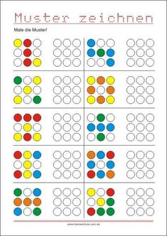Transfer pattern - promoting eye hand coordination - SKG - Welcome Education Elementary Education, Kids Education, Special Education, Kindergarten Worksheets, Preschool Activities, Visual Perception Activities, Kids And Parenting, Kids Learning, Barn