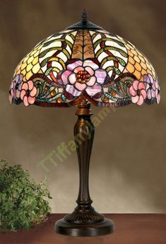 """Illuminate your home with a beautiful timeless Tiffany lamp - Tiffany lamps - Be .Illuminate your home with beautiful timeless Tiffany lamp - Tiffany lamps - Beautiful house Illuminate lamp LAMPS 15 """"h Henderson Tiffany Lamp Shade, Tiffany Chandelier, Tiffany Style Table Lamps, Art Deco Table Lamps, Stained Glass Lamp Shades, Stained Glass Table Lamps, Faux Stained Glass, Stained Glass Panels, Chandeliers"""
