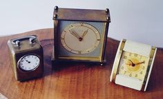 Check out this item in my Etsy shop https://www.etsy.com/ca/listing/538125696/three-vintage-desk-clocks-for-repair-or