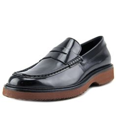 HOGAN Hogan H217 Route Mocassino   Round Toe Patent Leather  Loafer'. #hogan #shoes #loafers