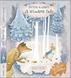 A Winter's Tale (Peter Rabbit) by Beatrix Potter Action Snowflake Decorations, Tree Decorations, Beatrix Potter, Rabbit Tale, A Christmas Story, Christmas Ornaments, Benjamin Bunny, Winter Illustration, New Children's Books