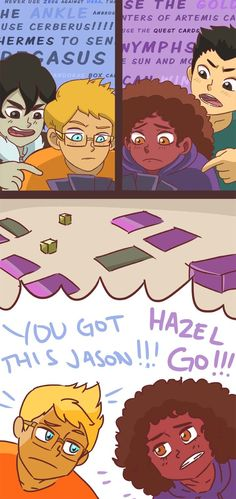 Third Part of HOO mini comic! Jason joins the fray. | art by gericohyeahles