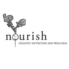 "Logo ""Nourish"" (holistic nutrition and wellness)"