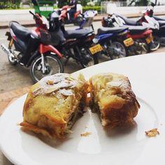 When in... Luang Prabang a chocolate almond croissant goes down a treat for breakfast. My top foodie picks in Luang Prabang new on the blog http://ift.tt/2so5dYj #luangprabang #laos #eatdrinklaos #foodblog #foodblogger #foodie #holidays #travel #breakfast #brunch #café #croissant #sweet #dessert #pastry #freshfood #instayum #instalike #instagood #instatravel   Eat Drink Laos http://eatdrinklaos.com