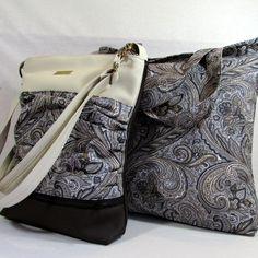 jana no.15-elegantní koženková sportovní kabelka ušitá z hodně tmavě hnědé  a béžové c7b16b6d118