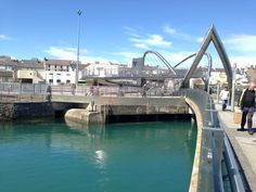 Holyhead Ferry Terminal in Holyhead, Anglesey. Took the ferry across the Irish sea from Holyhead to Dublin in 2012.