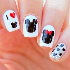 Disney Nail Art #disneynails #nails